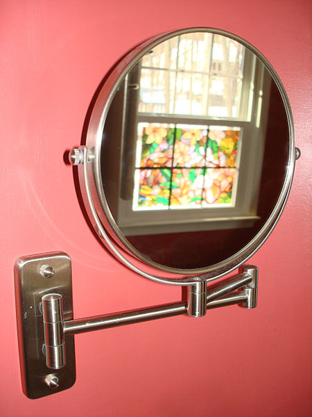 File:Wall Mounted Cosmetic Mirror.jpg