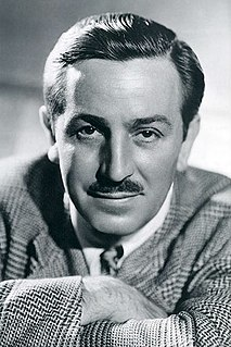 Walt Disney American entrepreneur, animator, voice actor and film producer