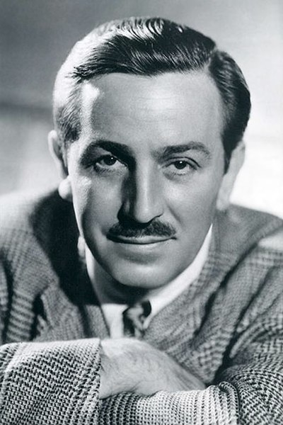 Walt Disney, American entrepreneur, animator, voice actor and film producer