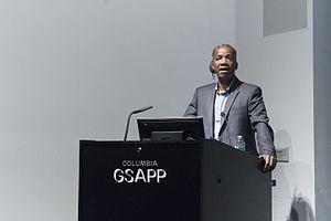 Walter Hood - Walter Hood speaking at Columbia University, 2016