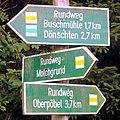 Wanderwegweiser Ahnewand-Brandweg in Schmiedeberg.jpg