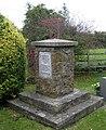 War memorial, Stainton-le-Vale - geograph.org.uk - 1540735.jpg
