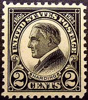 Warren G Hardiing 1923 Issue-2c