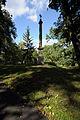 Warszawa - park wilanowski - kolumna z krzyżem maltańskim - ZJ001.jpg