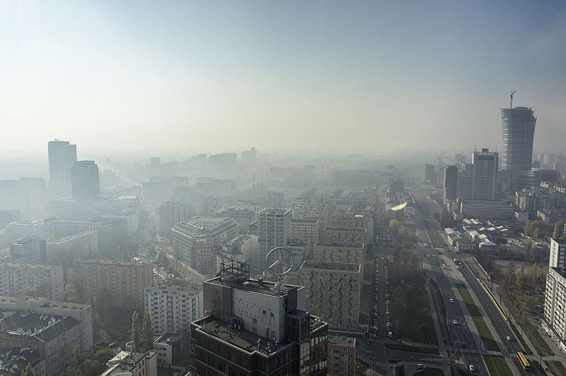 Opublikowano ranking europejskich miast z najgorszym powietrzem. Wypadamy fatalnie