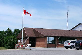Warwick, Ontario - Municipal office