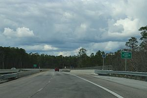 Washington County, Florida - The Washington County sign at Ebro, Florida on Florida State Road 79.