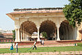 Watering the gardens, Red Fort (8130372219).jpg