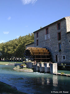 Watermill in Les Taillades France by JM ROSIER.jpg