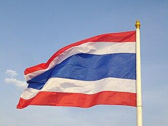 National symbols of Thailand - Flag of Thailand
