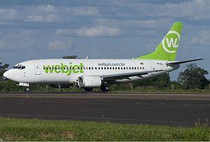 Gol Transportes Aéreos - Webjet Boeing 737-300.
