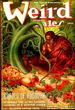 Weird Tales cover image for April 1938