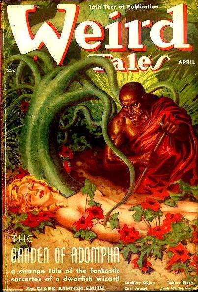 Weird Tales April 1938