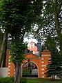 Wejście główne do klasztoru.JPG