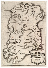 Wenzel Hollar's historical map of Ireland