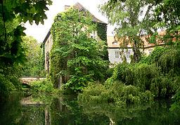 Wasserschloss Wendhausen, von Westen gesehen