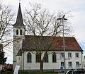Werl, denkmalgeschütztes Gebäude, ehemalige Evgl. Johannes-Kirche an der, Steinerstraße.JPG