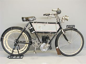 Werner Motors - The Werner Brothers Motobicyclette of 1904