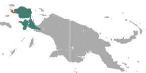 alt=Description de l'image Western Long-beaked Echidna area.png.