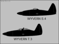 Westland Wyvern T.3 and S.4 side-view silhouettes.png