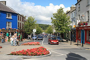 Westport Mayo Bridge Street 2007 08 12
