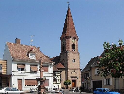 Wettolsheim, Église Saint-Rémi