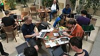 Wikimedia Hackathon 2017 IMG 4767 (34676757931).jpg