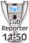 Wikinews Cub Reporter.png