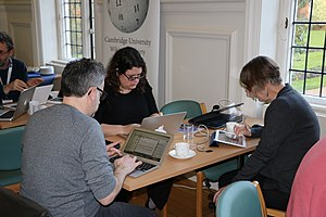 Wikipedia Editathon at Newnham College, Cambridge, March 2017 - 63.jpg