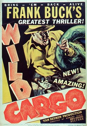 Wild Cargo (film) - Theatrical poster