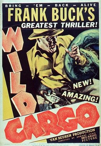Armand Denis - Original poster for Wild Cargo