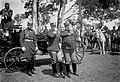 Wilhelm II German Emperor Dom Carlos King of Portugal Troops Lisbon 1905.jpg