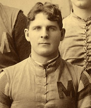 William C. Malley - Malley, captain of the 1890 Michigan Wolverines football team