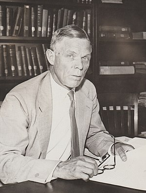 William Dodd (ambassador) - Dodd in 1933 as a professor at the University of Chicago, shortly after his nomination to be Ambassador to Germany.  International News Photos photograph.