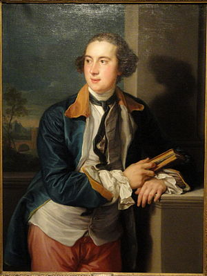 William Legge, 2nd Earl of Dartmouth - Portrait of William Legge, 2nd Earl of Dartmouth, by Pompeo Batoni, 1752–56, Hood Museum of Art, Dartmouth College, Hanover, New Hampshire