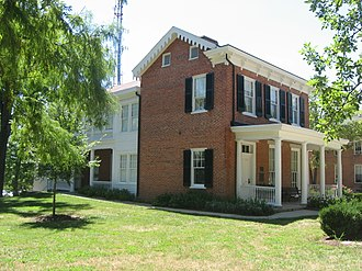 William Holmes McGuffey - McGuffey's house in Oxford, Ohio