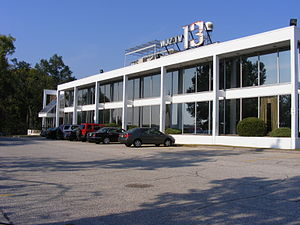 WJZ-TV - The WJZ-TV studio and office facility, on Television Hill in Baltimore.