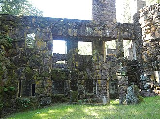 Wolf House - The ruins of the Wolf House