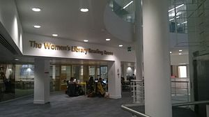 Women's Library - The Women's Library reading room in the LSE library