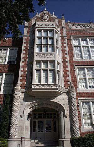 Lakewood, Dallas - Woodrow Wilson High School
