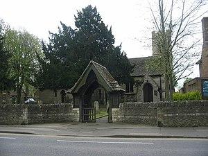 Woodston, Peterborough - Image: Woodston Church geograph.org.uk 164909