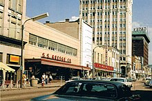 F W Woolworth And S S Kresge Stores On Lackawanna Avenue In Downtown Scranton Pennsylvania The Two Stores Were Often Found Near One Another In