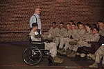 World-renowned motivational speaker, double amputee drives home safety aboard Cherry Point 120907-M-QB428-164.jpg