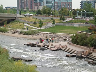Confluence Park - Image: World Water Monitoring Day (4049999633)