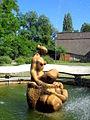 Wrocław, fontanna na Rakowcu przy Instytucie Niskich Temperatur i Badań Strukturalnych(Aw58).JPG
