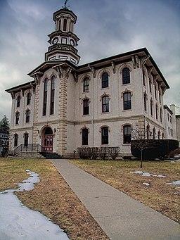 Wyoming Countys domstolshus i Tunkhannock.