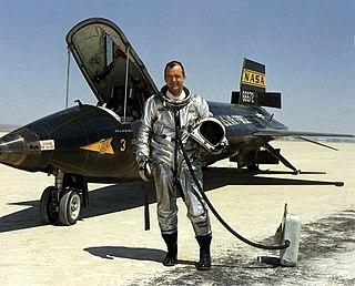William H. Dana NASA research pilot and astronaut
