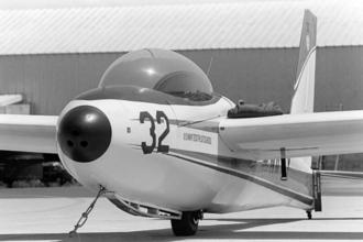 Schweizer X-26 Frigate - A X-26 glider 1983