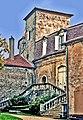 Xaintrailles-perron-du château.jpg