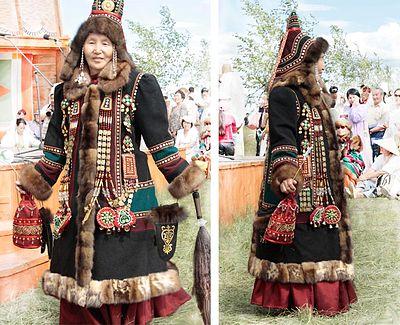 якуты фото в национальных костюмах